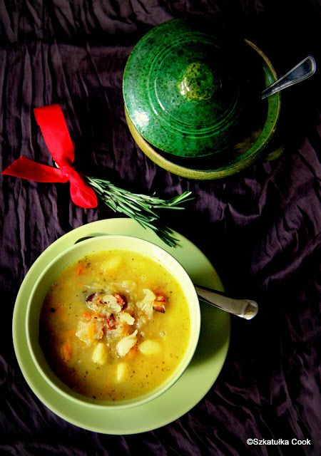 cabbage soup, kapuśniak z kapusty kiszonej