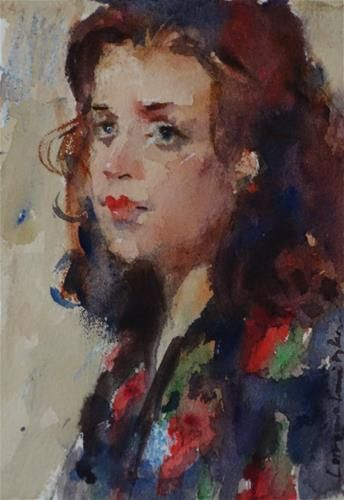 Lorraine Lewitzka   WATERCOLOR
