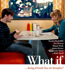 """What if"": I wanted to see this movie the minute I saw the preview. While the concept was promising, I was incredibly pumped about the casting. I really love Daniel Radcliffe (I'm a profound Harry Potter nerd). Despite my bias, I'm still going to mention that Radcliffe's acting was superb in this movie.  #Movie #Film #MovieReview #DanielRadcliffe #Blog"