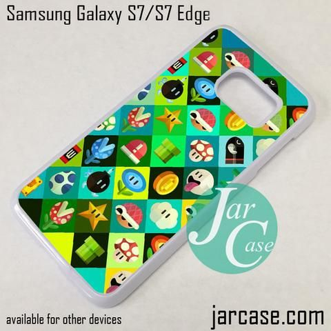 Marios Friends Phone Case for Samsung Galaxy S7 & S7 Edge