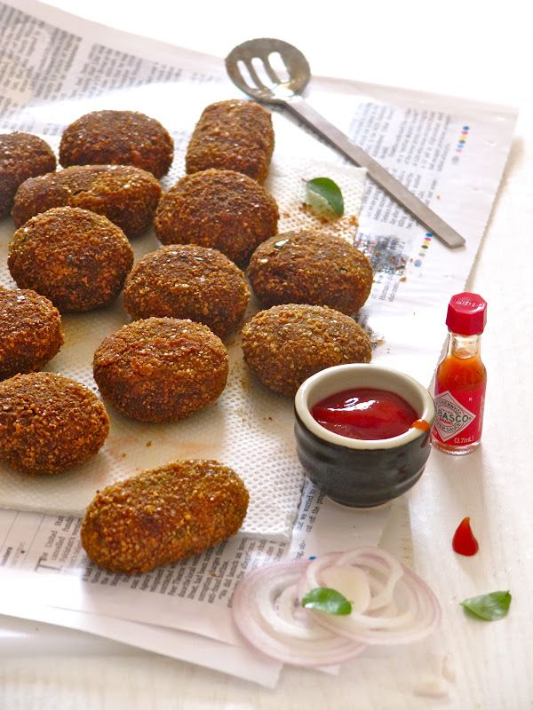 Plateful: Beef Croquettes — Kerala Style Beef Cutlets