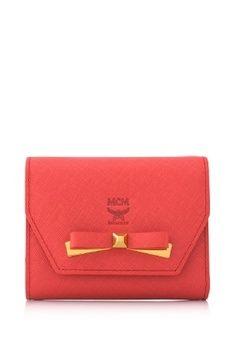 MCM Mina Small Wallet