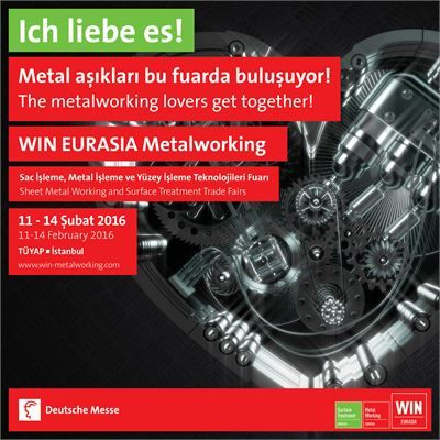WIN EURASIA Metalworking Fuarı - 2