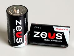 Zeus Alkaline Batteries are manufactured in various sizes to suit your application and needs. ZEUS C Alkaline Batteries are shipped in a carton of 12 pieces per order.  Features include: Sealed and Maintenance Free Operation, High Current & Large Capacity, Stable Voltage and Current, Excellent Storage Life. Applications include: Cameras, Electric Shavers, Electronic Calculators, Electronic Door Locks, Fire Detectors, High-Power Flashlights, Recorders, Toys, Other Cordless Products.