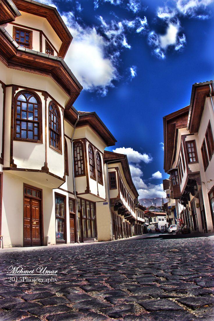 old houses - türkiye/ malatya yeşilyurt ilçesinde bir sokak