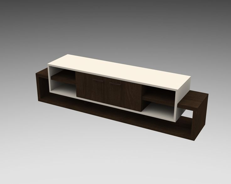 Colorado Wenge/Off White TV Cabinet