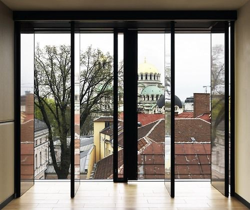 HOTEL IN SOFIA - Sofia, Bulgaria Pivot doors