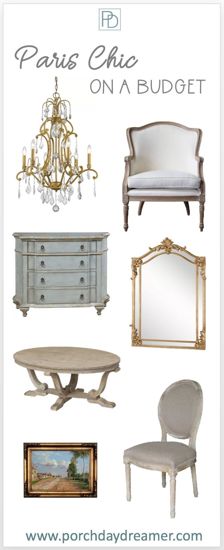 Paris Chic On A Budget With Gorgeous White Paint Color Options To Try