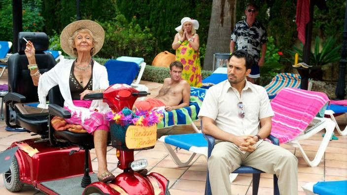 Benidorm Comedy series following regular and first-time holidaymakers as they visit the Solana Resort in Benidorm. All the guests have one thing in common: a quest to get value for their hard-earned Euros.