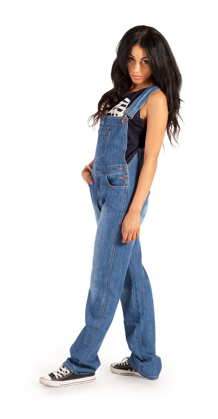 Womens Light Wash Dungarees | Homepage Best Sellers
