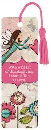 "BOOKMARK:  A HEART OF THANKSGIVING (PBM005). Available from Faith4U Book- and Giftshop, Secunda, SA. Email ""faith4u@kruik.co.za"""
