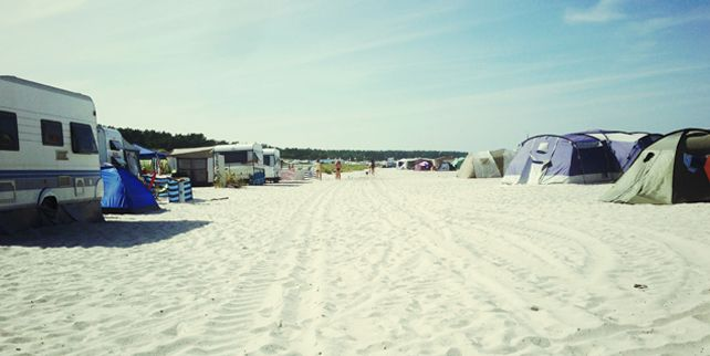 Zelten am Prerower Strand