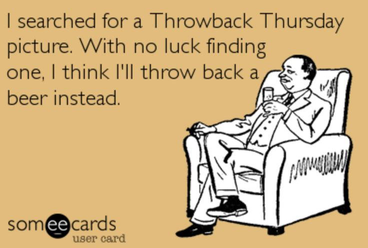 Throwback Thursday takes on a whole new meaning!
