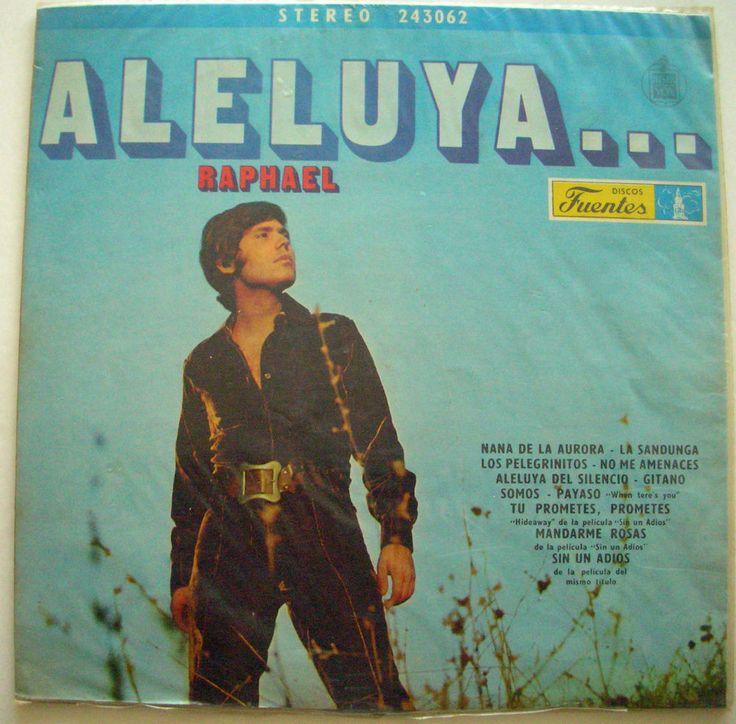 RAPHAEL ALELUYA ... wrapped Colombia Press #LatinPop