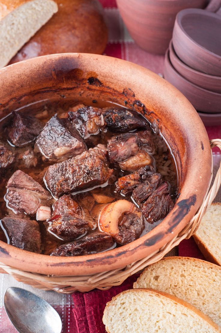 This Azores slow cooked pot roast (Alcatra) is a traditional dish from Terceira, an Island in the Azores. It's made with red wine, it's rich and full of flavour. Your house will smell amazing!
