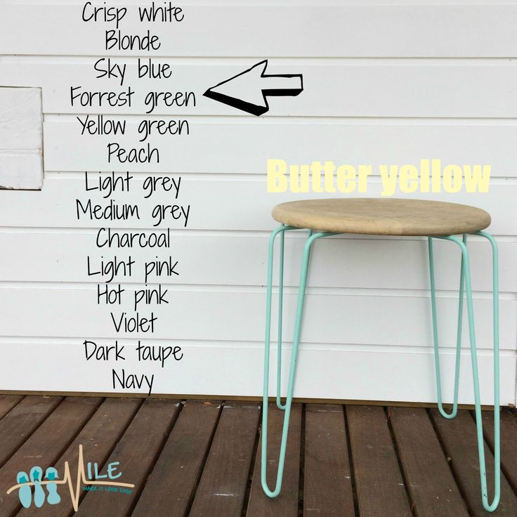 Butter yellow goes with...