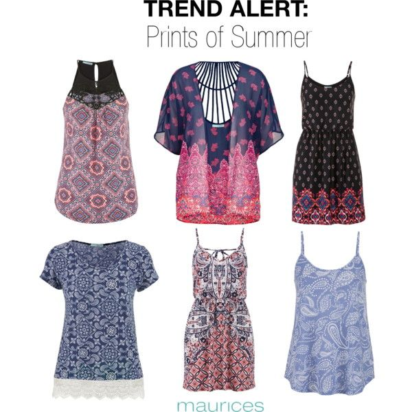 TREND ALERT: Prints of Summer by maurices on Polyvore featuring maurices