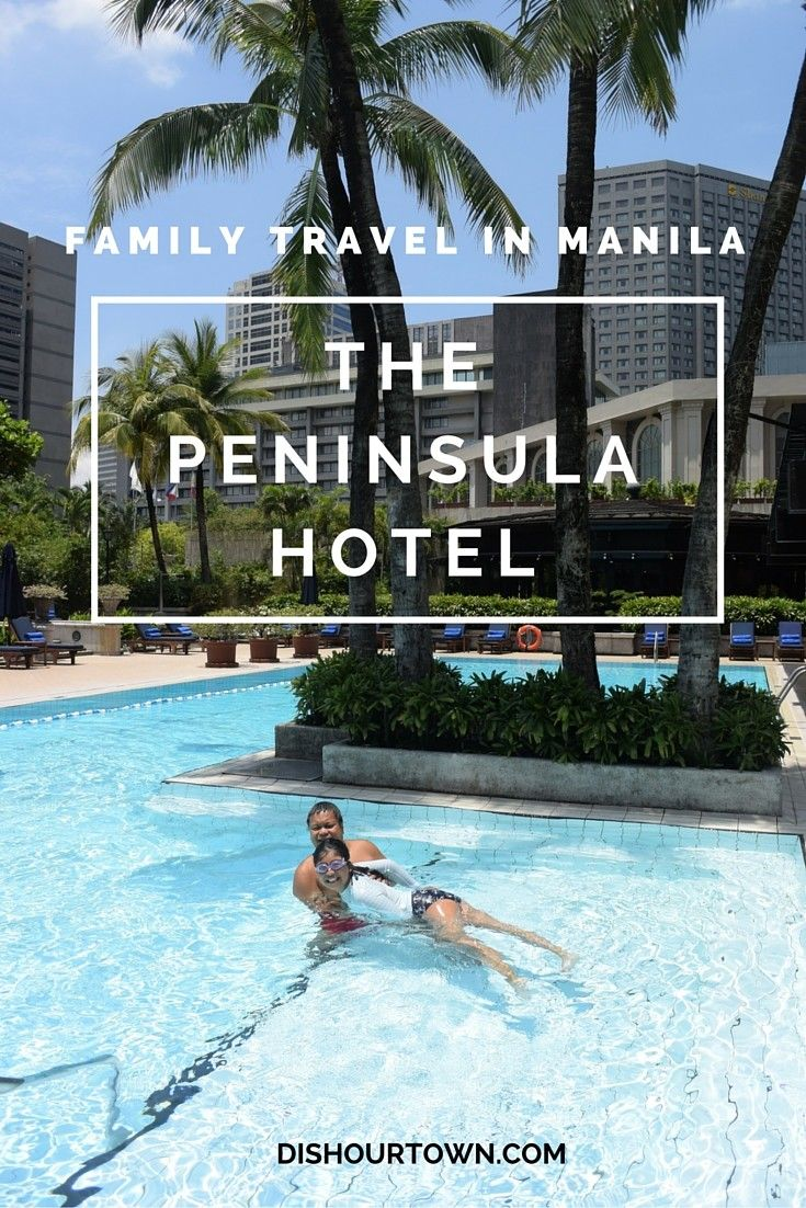 Travel Manila, The Philippines with a tween. We stayed at the Peninsula and had the time of our lives. Of course, we have some dishes for you to try!