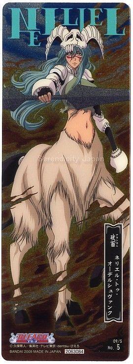 BLEACH Anime Nelliel Tu Odelschwanck Bookmark Metallic type #9th   Collectibles, Animation Art & Characters, Japanese, Anime   eBay!