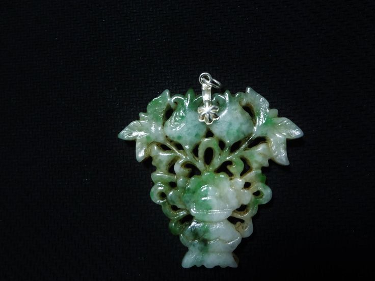 638 best antique jade jewelry images on pinterest jade jewelry antique 19th c chinese emerald green jadeite carved pierced pendant aloadofball Gallery