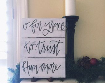 Hand-painted Canvas Art with Scripture 1 John by WordsWorthNoting