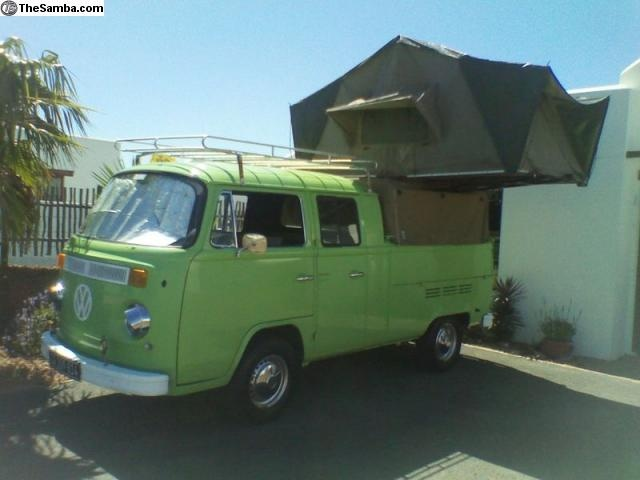 kombi double cab safari   Price: 13000 here I have for sale a 1975 double cab kombi right hand drive in good condition allround .