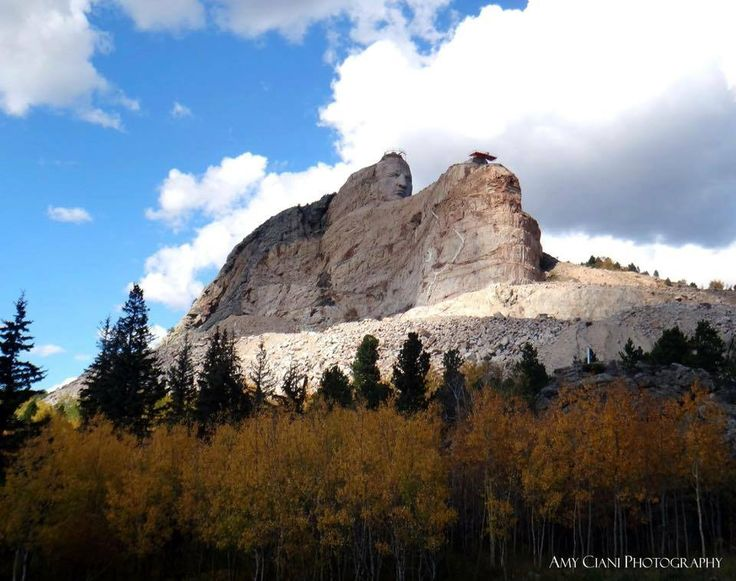 Crazy Horse Memorial by Amy Ciani