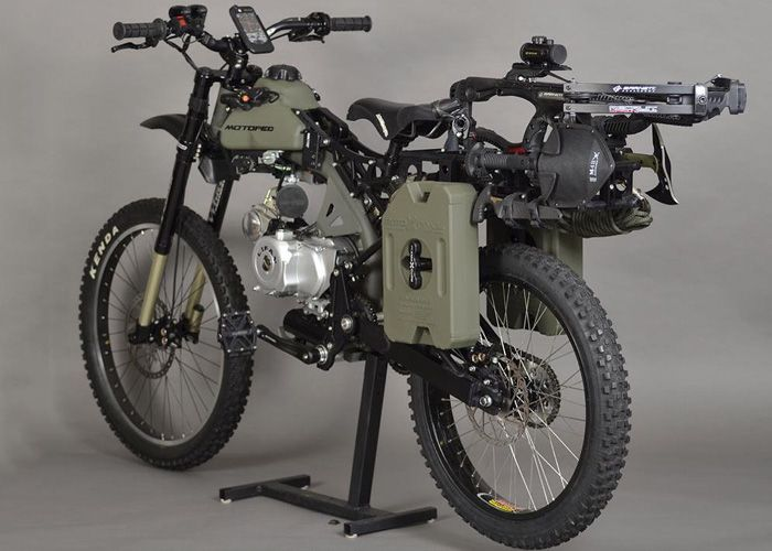 Motoped's Survival Bike: Black Ops Edition Can Help You Outrun Zombies