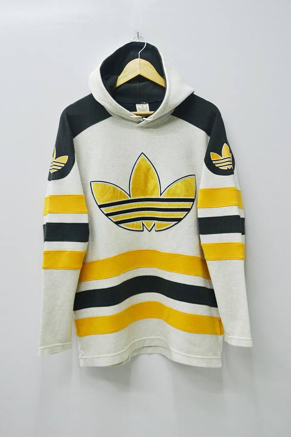 on sale new arrival outlet on sale ADIDAS Sweatshirt Vintage 90's Adidas Big Logo Made In Japan ...