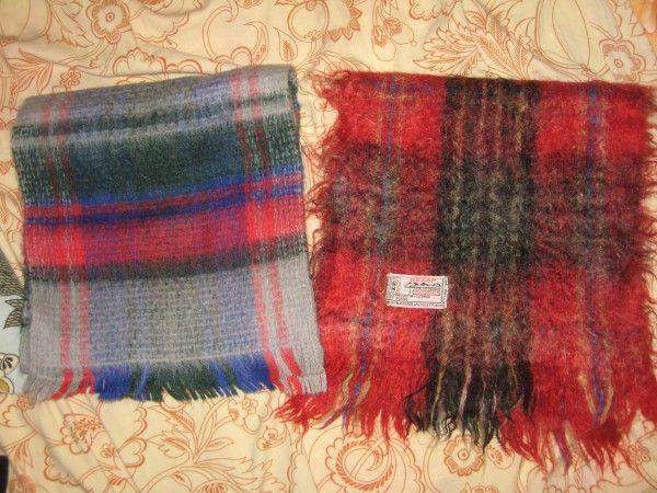 2 мужских мохеровых шарфа as a gift (Москва). DaruDar