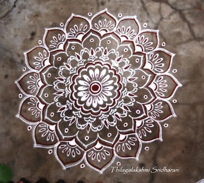 Rangoli and Art Works: Margazhi 2015 - Day 12 kolam