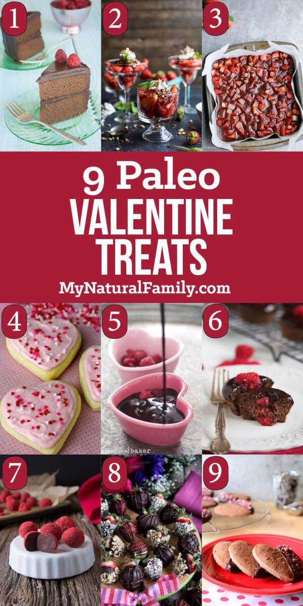 Paleo Valentine Treats