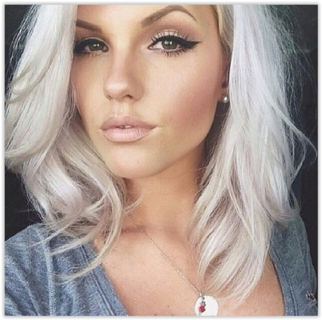 icy gray hair pictures | White Hair Pictures, Photos, and Images for Facebook, Tumblr ...