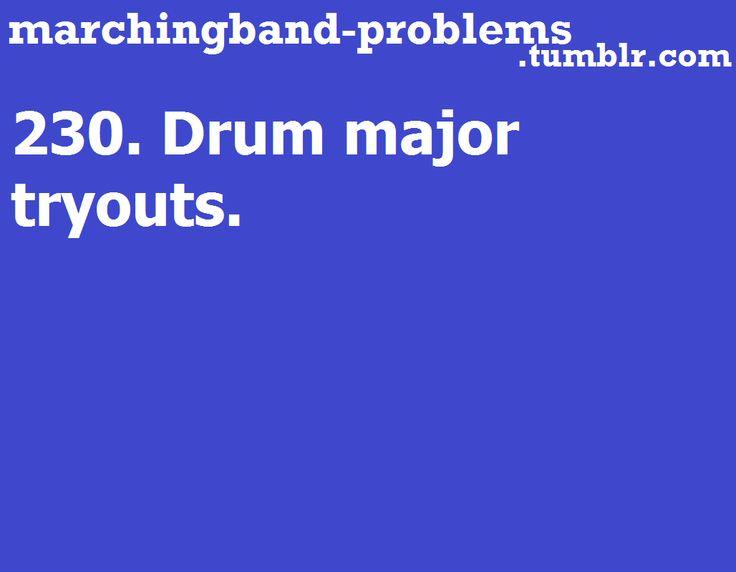 Descriptive words about drum majors? definition of the drum major position?