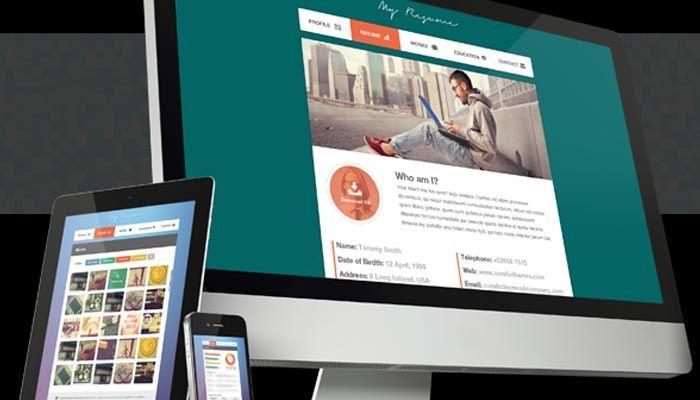 Savannah Resume Website Templates CV Pinterest Template - online resume website