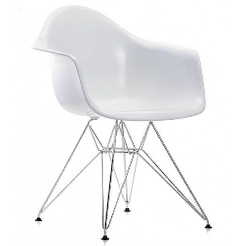 Vitra Eames Plastic Armchair DAR By Charles U0026 Ray Eames. The Vitra Eames  Plastic Armchair DAR Was First Presented As Part Of A New York Museum Of  Modern Art ...
