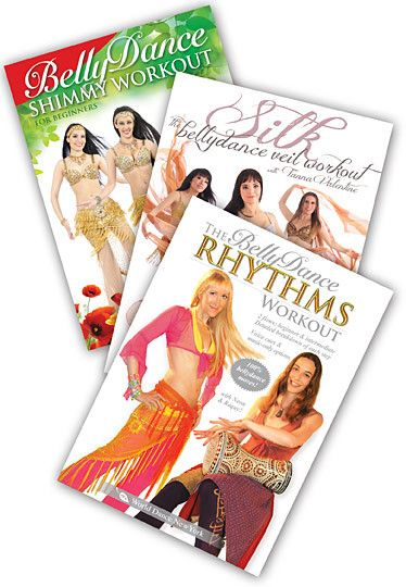 Special Subject Belly Dance Workouts - Shimmy, Veil & Drum Solo 3 DVDs