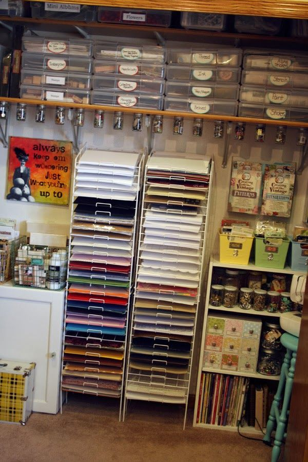 17 Best Images About Organization Craft Room On Pinterest