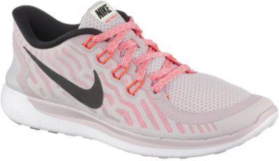 Nike Free 5.0 Laufschuhe Damen altrosa/neonorange