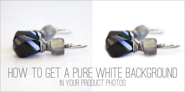 how to make white background photoshop