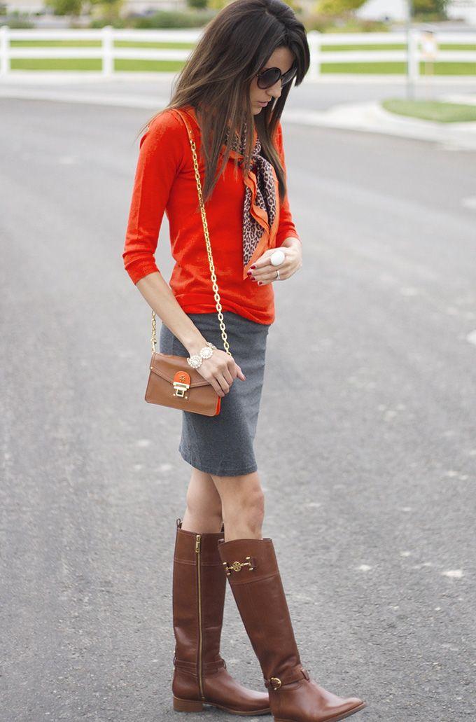 Hello Fashion: Fall Orange