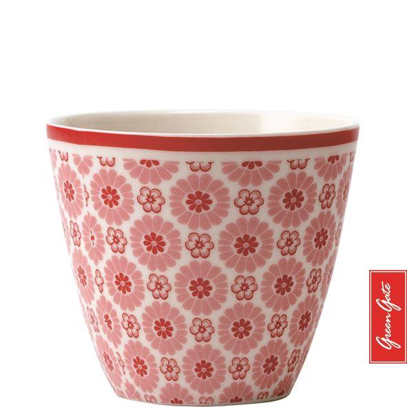 greengate latte cup denise pale pink green gate pinterest. Black Bedroom Furniture Sets. Home Design Ideas
