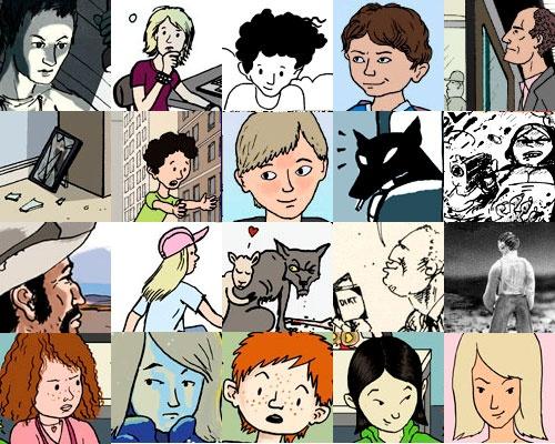 utdrag av illustrasjoner