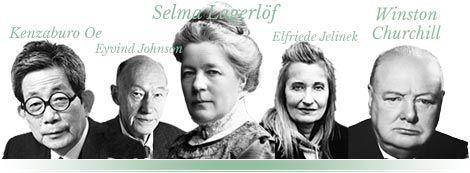 Nobel lit prize winners list