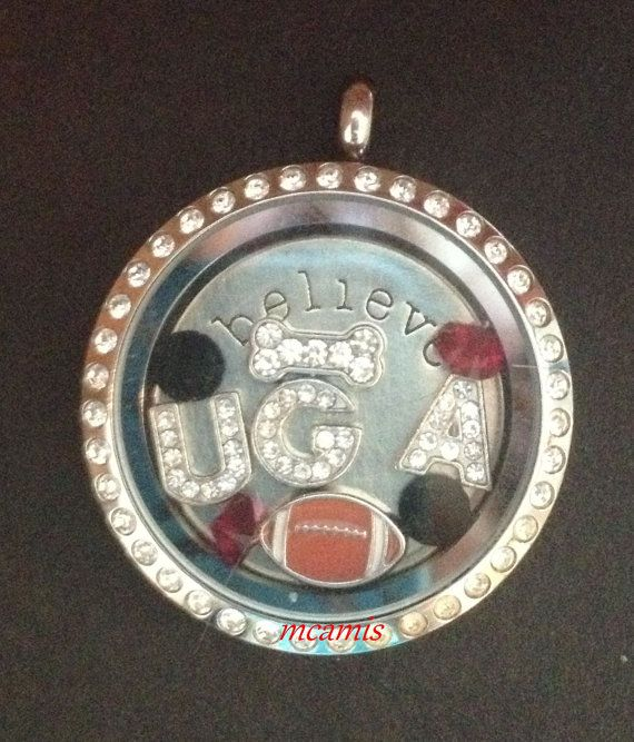 University of Georgia UGA  Dawgs Football by LoveLivingLockets, $22.99