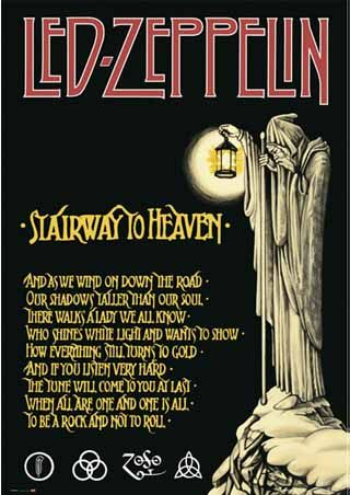 Staircase to Heaven | Stairway to Heaven de Led Zeppelin a 40 ans !