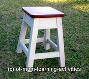 """Fine Motor Development:The Essential Bases-Think of your child's Fine Motor Development as a 4-legged stool. Each leg of the stool represents one of the bases for FM skills. BY """"OT Mom Learning Activities"""". Pinned by SOS Inc. Resources.  Follow all our boards at http://pinterest.com/sostherapy  for therapy resources."""