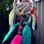 Pink and Blue Dreamcatcher | matillie | madeit.com.au