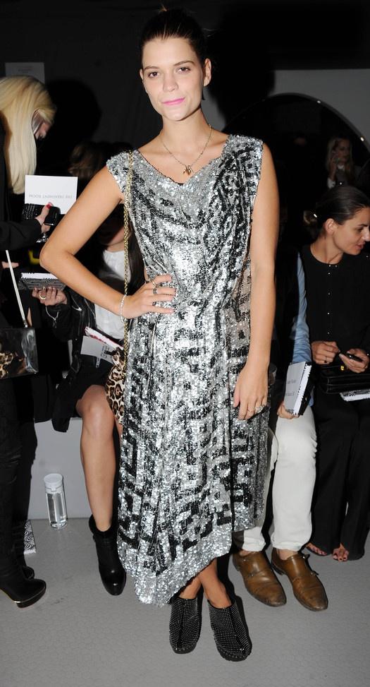 Неделя моды в Лондоне: звездные гости. Пикси Гелдоф