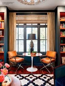 ColorsWall Colors, Orange, Colors Combos, Color Schemes, Blue, Chairs, Living Room, Colors Schemes, Windows Treatments
